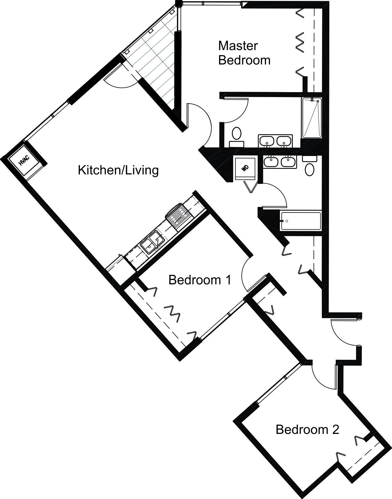 Unit 08 Floor Plan